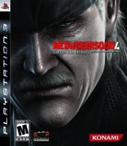 Metal Gear Solid 4: Guns of the Patriots dvd cover