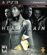 Heavy Rain dvd cover