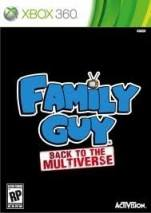 Family Guy  Back To The Multiverse  dvd cover