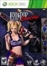 Lollipop Chainsaw dvd cover