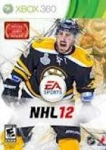 EA SPORTS NHL 12 dvd cover