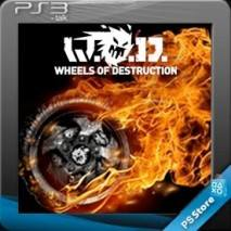 Wheels of Destruction  cd cover