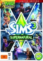 The Sims 3 Supernatural dvd cover