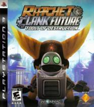 Ratchet & Clank Future: Tools of Destruction dvd cover
