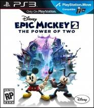 Disney Epic Mickey: The Power of Two dvd cover