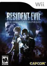 Resident Evil: The Darkside Chronicles dvd cover 