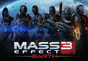 Mass Effect 3: Earth cd cover