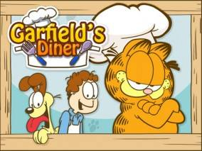 Garfield's Diner dvd cover