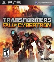 Transformers: Fall of Cybertron dvd cover