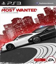 Need for Speed Most Wanted (Criterion) cd cover 