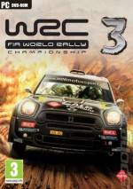 WRC 3: FIA World Rally Championship  dvd cover