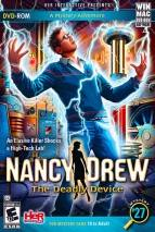 Nancy Drew: The Deadly Device dvd cover