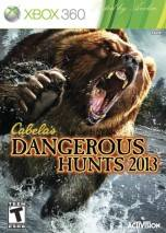 Cabela's Dangerous Hunts 2013 dvd cover
