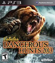Cabela's Dangerous Hunts 2013 cd cover