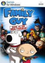 Family Guy: Back to the Multiverse dvd cover