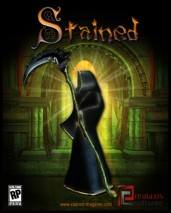 Stained dvd cover