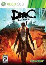 DmC: Devil May Cry dvd cover