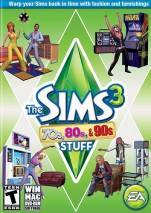 The Sims 3: 70s, 80s, & 90s Stuff Pack dvd cover