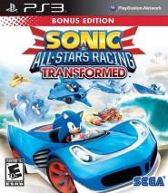 Sonic & All-Stars Racing Transformed cd cover