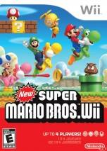 New Super Mario Bros. Wii  dvd cover 