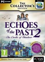 Echoes of the Past: The Castle of Shadows dvd cover
