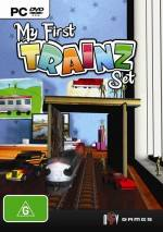 My First Trainz Set  dvd cover