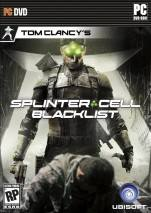 Tom Clancy's Splinter Cell: Blacklist dvd cover