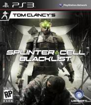 Tom Clancy's Splinter Cell: Blacklist cd cover