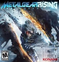 Metal Gear Rising: Revengeance  dvd cover