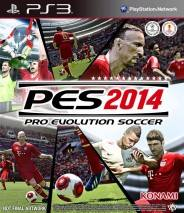 Pro Evolution Soccer 2014 cd cover