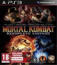 Mortal Kombat Komplete Edition dvd cover