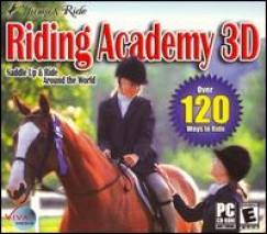 Jump & Ride: Riding Academy 3D dvd cover