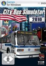City Bus Simulator 2010 New York dvd cover