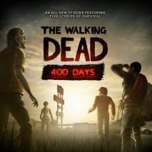 The Walking Dead: 400 Days dvd cover