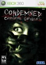 Condemned: Criminal Origins dvd cover