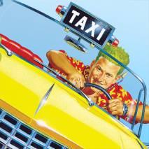Crazy Taxi dvd cover