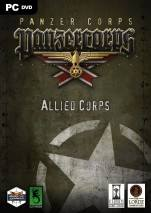 Panzer Corps: Allied Corps dvd cover