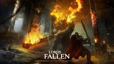Lords of the Fallen dvd cover