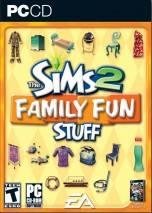 The Sims 2: Family Fun Stuff dvd cover