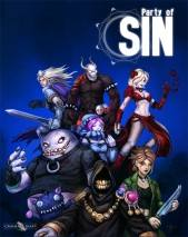 Party of Sin dvd cover
