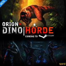 ORION: Dino Horde dvd cover