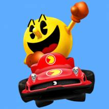 Pac-Man Kart Rally by Namco dvd cover
