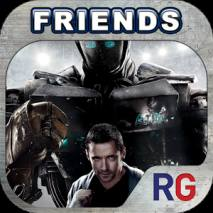 Real Steel Friends dvd cover