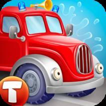 FireTrucks: 911 rescue (educational app for kids) dvd cover