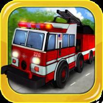 Fire Truck 3D dvd cover