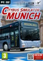 City Bus Simulator Munich dvd cover