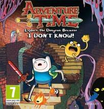 Adventure Time: Explore the Dungeon Because I DON'T KNOW! dvd cover