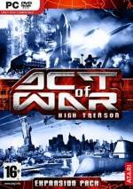 Act of War: High Treason dvd cover
