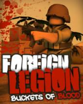 Foreign Legion: Buckets of Blood dvd cover