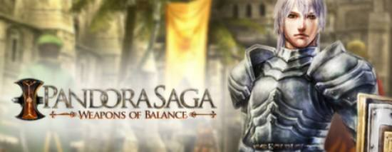 Pandora Saga: Weapons of Balance dvd cover